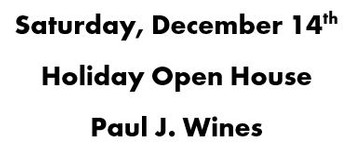 Saturday, December 14th | Holiday Open House