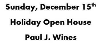 Sunday, December 15th | Holiday Open House